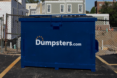 A 4 Yd Dumpsters.com Front Load Dumpster