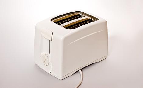 White Toaster.