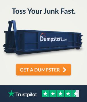 toss your junk fast - get a dumpster