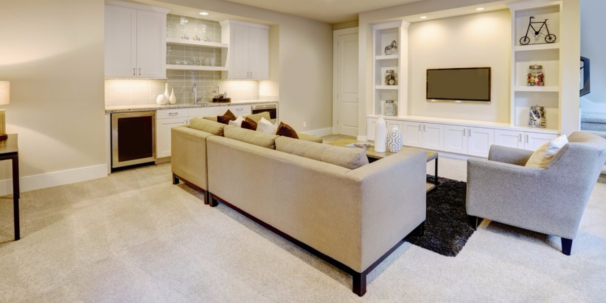 Organize Your Finished Basement In 4 Simple Steps Dumpsters Com