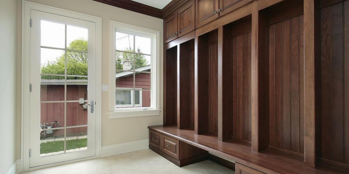 Turn Your Coat Closet Into A Mudroom