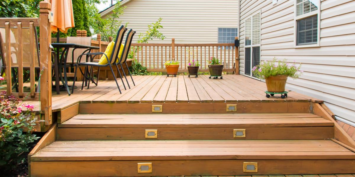 How To Demolish A Wood Deck Dumpsters Com