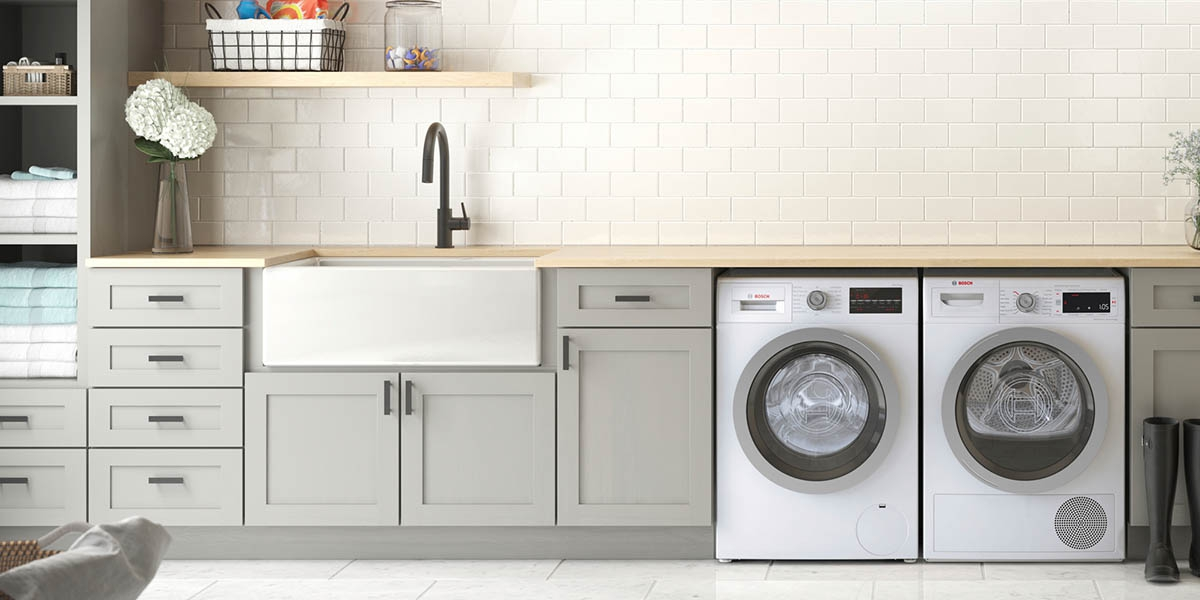 Renovate A Laundry Room In 9 Steps Dumpsters Com