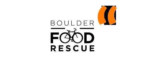 Quotation Marks Boulder Food Rescue Logo.