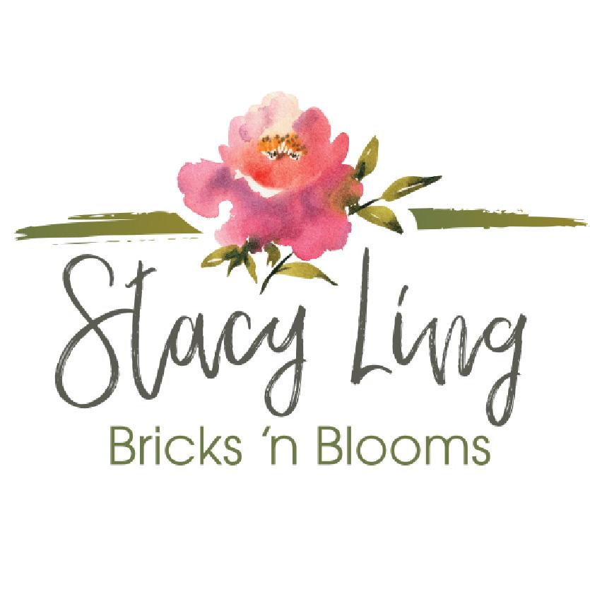 Bricks 'n Blooms Logo.