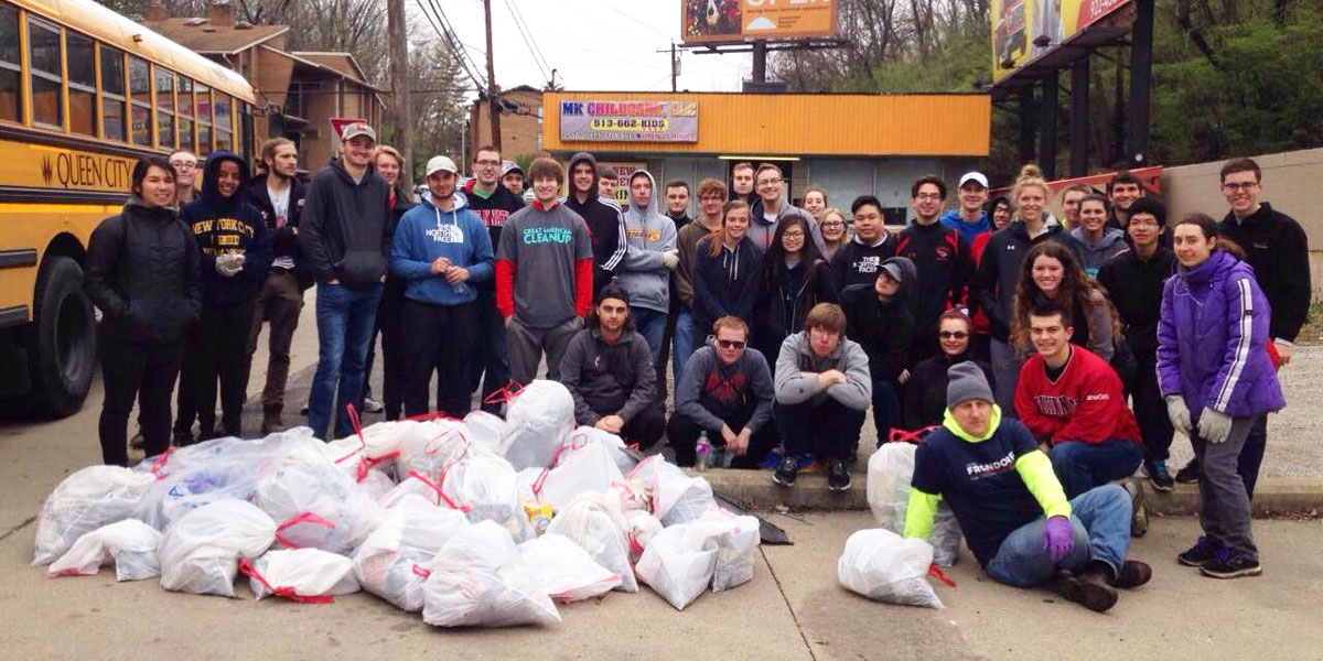 Clean Up Cincy Group Photo