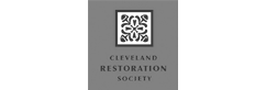 Cleveland Restoration Society logo.