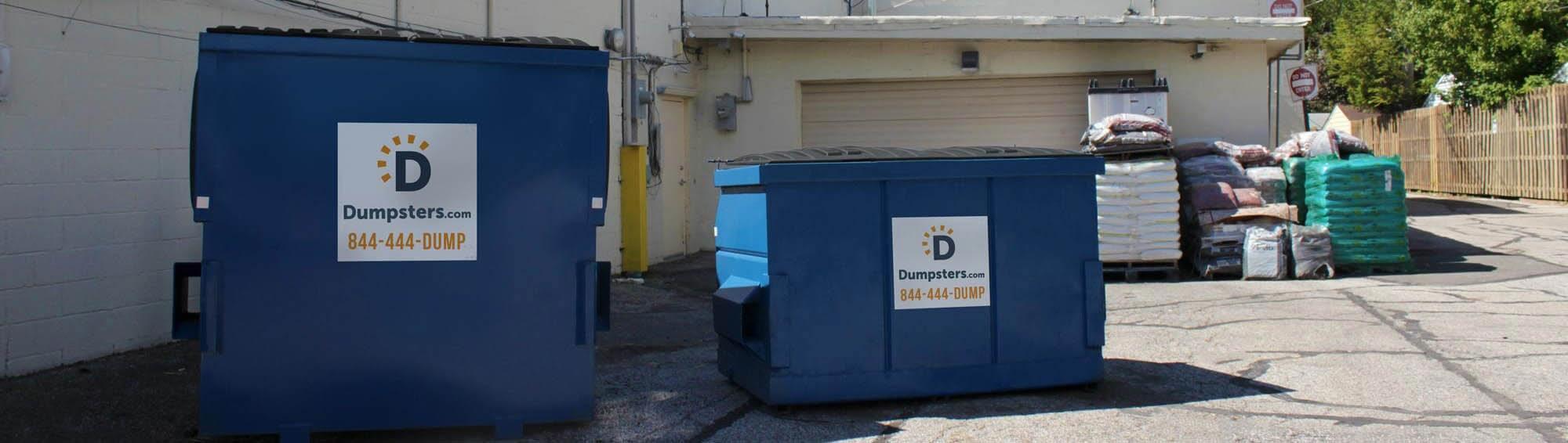 commercial dumpster sizes