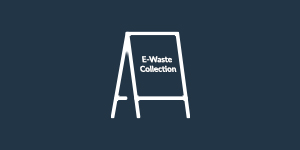 E-Waste Collection Event Icon.