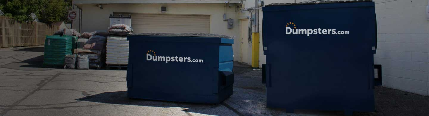 commercial dumpster sizes