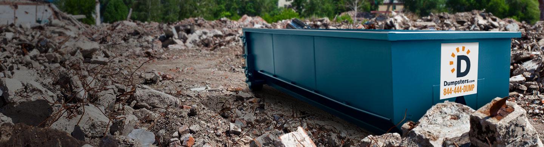 Concrete Dumpster Rental