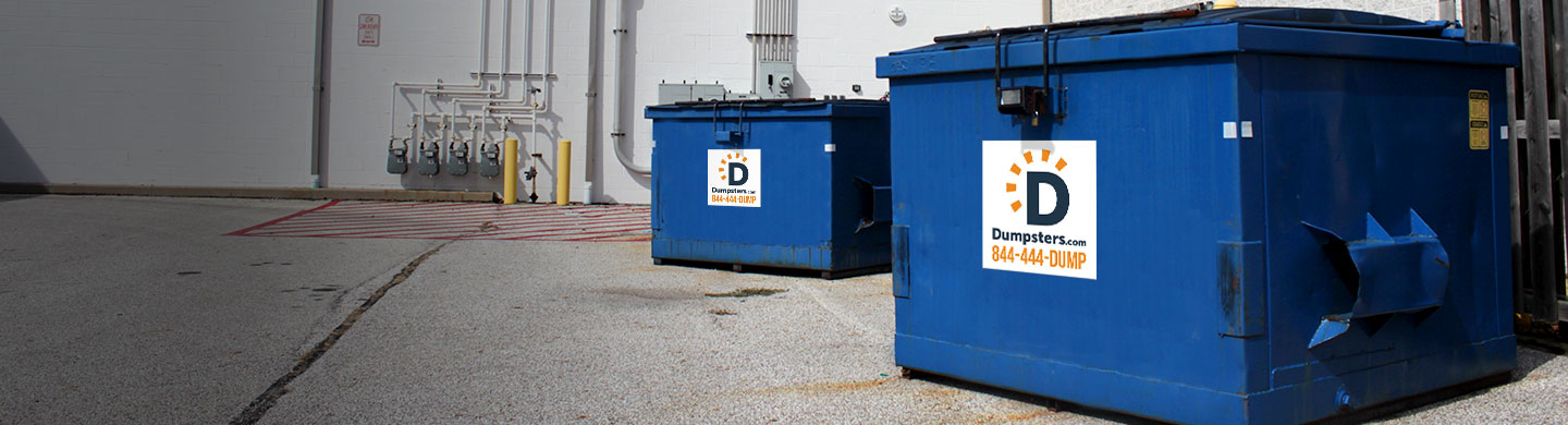 dumpsters for manufacturing and industrial industries