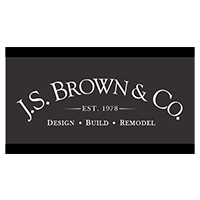Graphic Logo for J.S. Brown & Co Remodeling Firm.