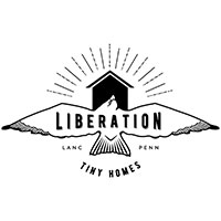 Liberation Tiny Homes logo.