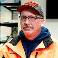 Dumpsters.com Roll Off Truck Driver Matt Snyder.