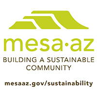 Mesa Arizona Sustainability logo
