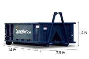 12 yard dimensions