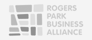 Rogers Park Business Alliance Logo.