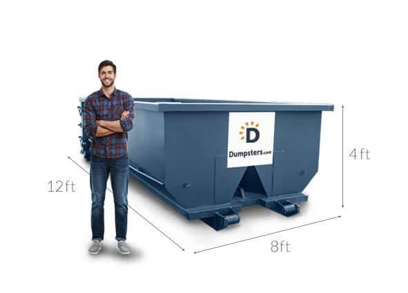 Simple Dumpster Rental Service in Cincinnati | Dumpsters com
