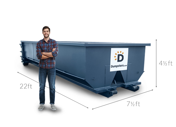 Dimensions of a 20 Yard Dumpster