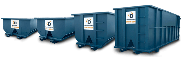 Commercial Trash Bin Sizes : Commercial dumpster dimensions dumpsters