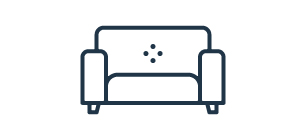 graphic of old sofa